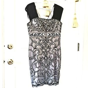 $450 NWT Sue Wong beaded embroidered dress